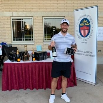Jimmy Oddbratt - Closest to Pin winner Men